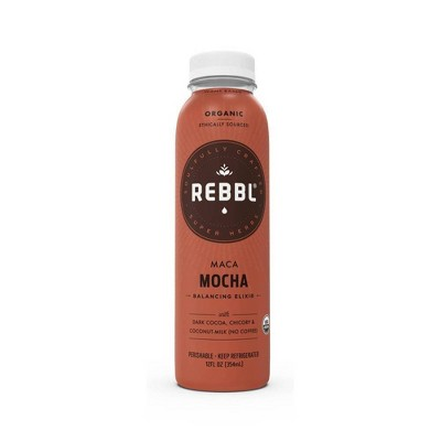 Rebbl Elixir Organic Vegan Maca Mocha Coconut Milk - 12 fl oz