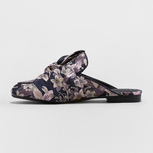 3d03b75ade65 Women's Holland Jacquard Knotted Mules - A New Day™ : Target