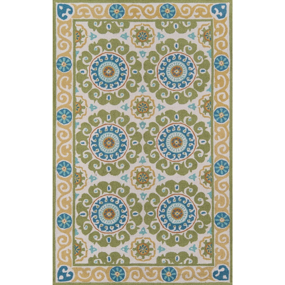 Beaufort Wool Accent Rug - Lime (Green) (3'-6