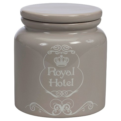 Royal Hotel Jar Taupe - Creative Bath - image 1 of 4