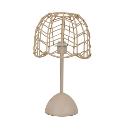 Rattan Table Lamp Natural - Pillowfort™