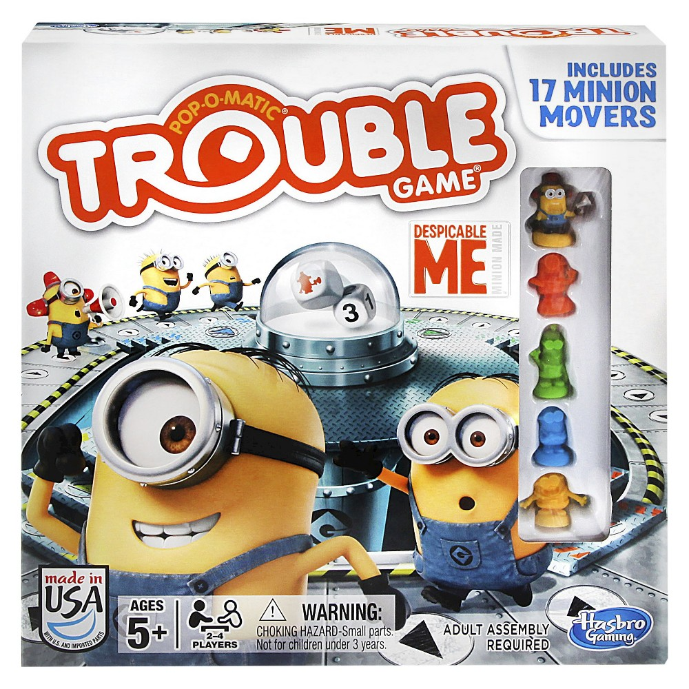 Trouble Despicable Me Board Game