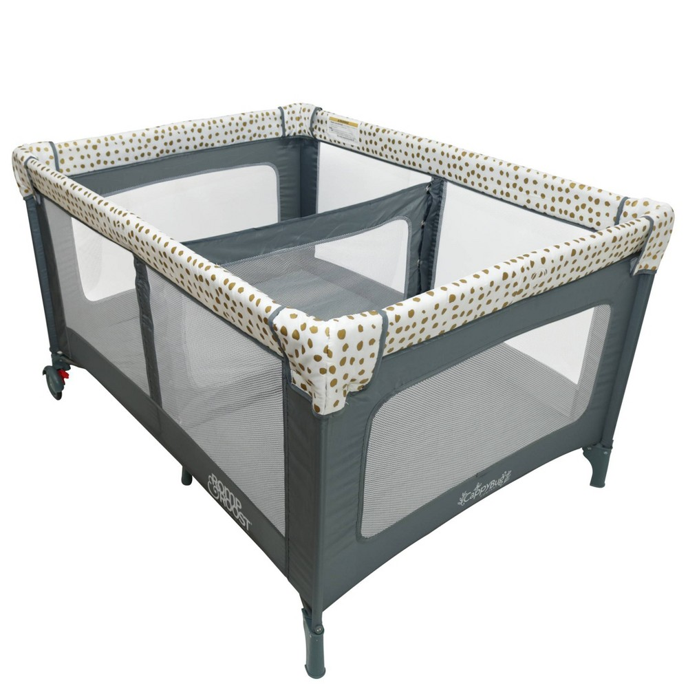 Image of Romp & Roost Play Yard - Gold Pod