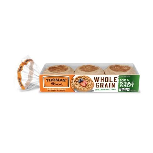 Thomas' Whole Wheat English Muffins - 12oz/6ct - image 1 of 3
