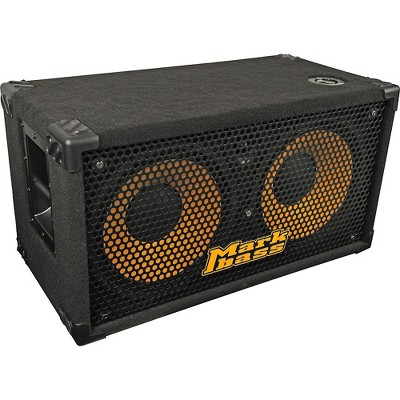 Markbass New York 122 700W 2x12 Bass Speaker Cabinet Black 4 Ohm