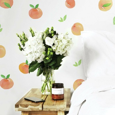 Sweet Peaches Peel and Stick Wall Decal - RoomMates