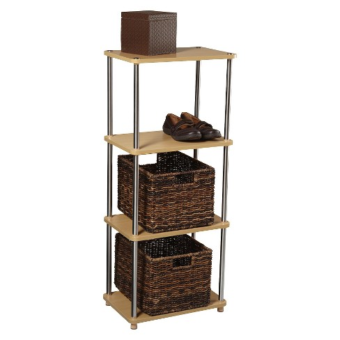 "42.5"" 4 Tier Bookshelf Natural - Convenience Concepts - image 1 of 1"