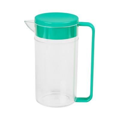 Plastic Beverage Pitcher 2L - Green