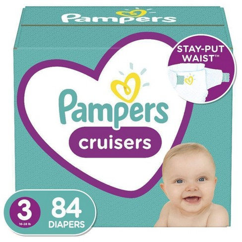 Pampers Diapers Size 6 Cruisers Disposable Baby Diapers Packaging May Vary 92 Count Super Economy Pack