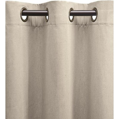 "Plow & Hearth - Energy Efficient Grommet-Top Insulated Curtain, 40"" W x 96'' L, Harvest"