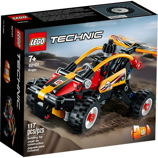 LEGO Technic Buggy 42101 2-in-1 Toy Buggy Building Kit image number null