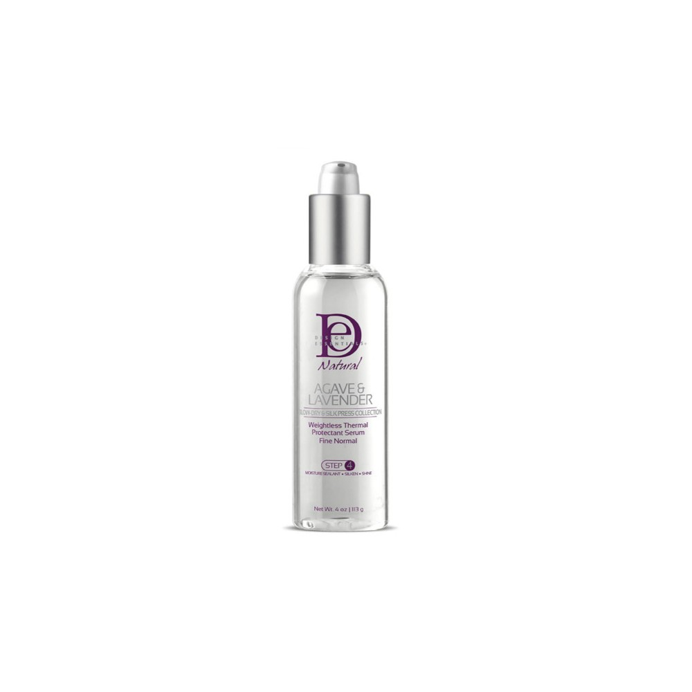 Image of Design Essentials Natural Agave & Lavender Weightless Thermal Protectant Serum - 4oz