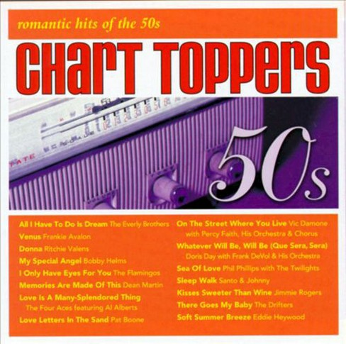 Various - Chart toppers:Romantic hits of 50's (CD) - image 1 of 1