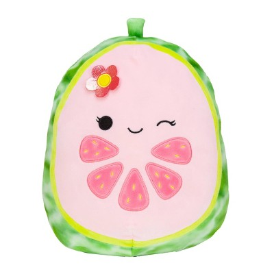 "Squishmallows Official Kellytoy Plush 11"" Lena the Guava Ultrasoft Stuffed Animal Plush Toy"