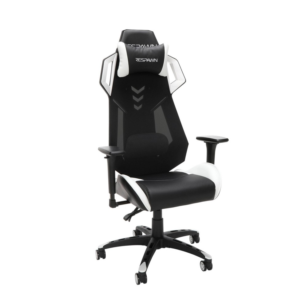 Image of 200 Racing Style Gaming Chair White - RESPAWN, White Black