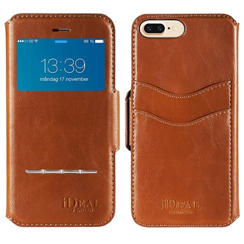 best service c6383 10fc5 iDeal of Sweden Swipe Wallet for iPhone 8 Plus/7 Plus/6 Plus Plus - Brown