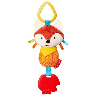 Skip Hop Bandana Buddies Chime & Teethe Toy - Fox