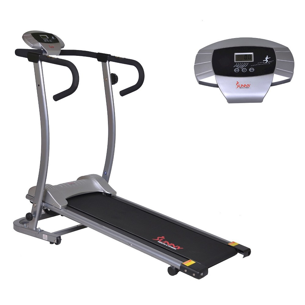 Sunny Health and Fitness (SF-T1409M) Magnetic Manual Treadmill