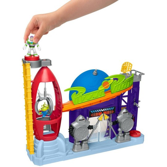 Fisher-Price Imaginext Disney Pixar Toy Story 4 Pizza Planet Playset image number null