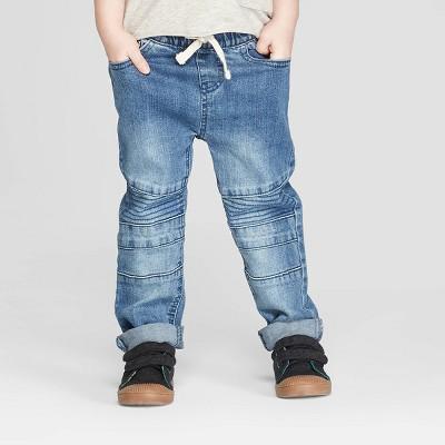Toddler Boys' Moto Jeans - art class™ Blue 12M