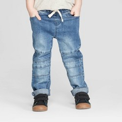 89ce13264 Afton Street Toddler Boys' Distressed Jeans - Blue : Target