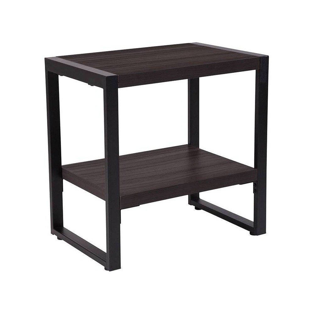 Thompson End Table Gray - Riverstone Furniture