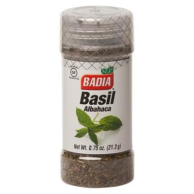 Badia Dried Basil - .75oz