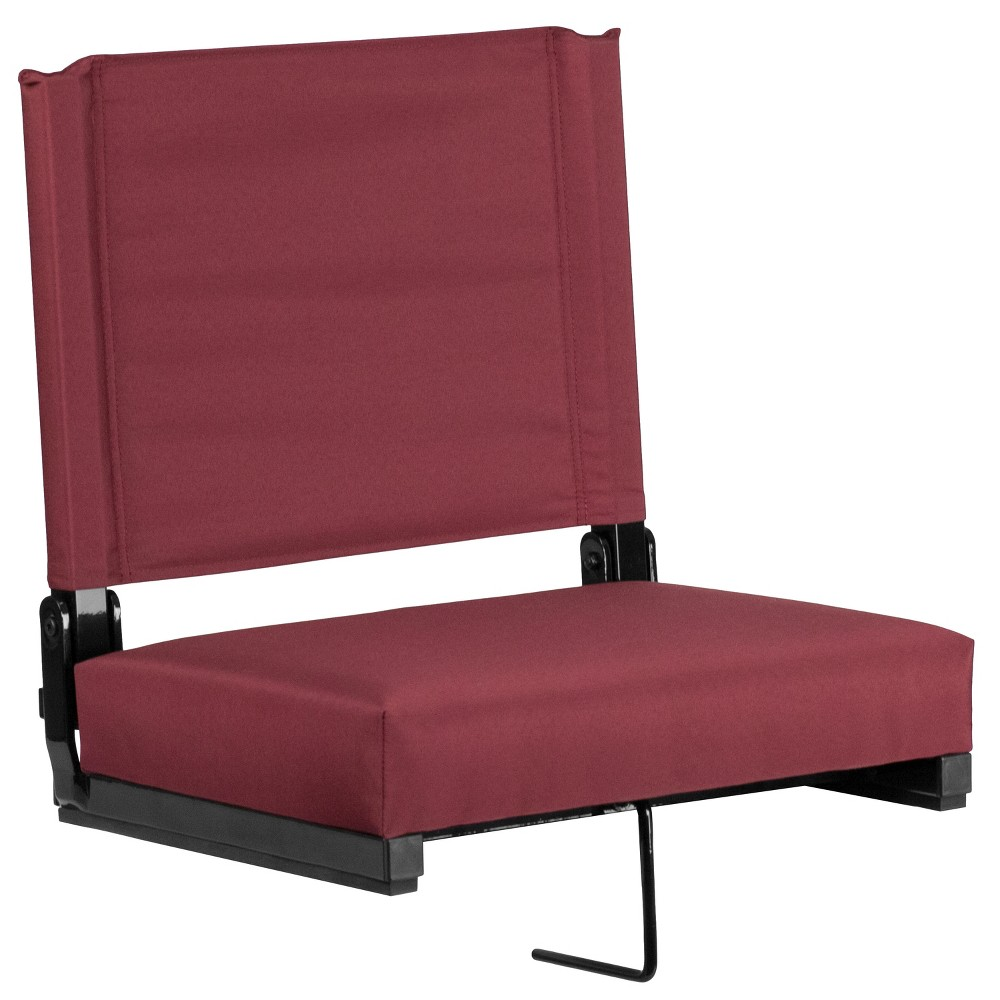 Riverstone Furniture Collection Stadium Chair Maroon (Red)