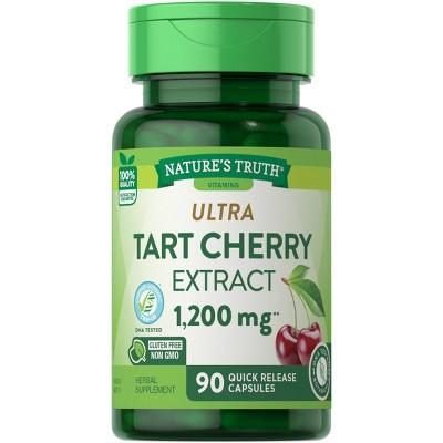 Nature's Truth Ultra Tart Cherry Extract Dietary Supplement Capsules - 90ct