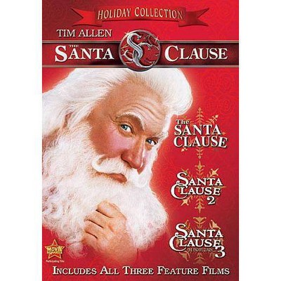 The Santa Clause: 3 Movie Collection (P&S)(3 Discs)(dvd_video)