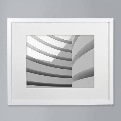 "11"" x 14"" Matted Wood Frame White - Room Essentials™"