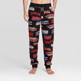 Men's Marvel Avengers Pajama Pants - Black L