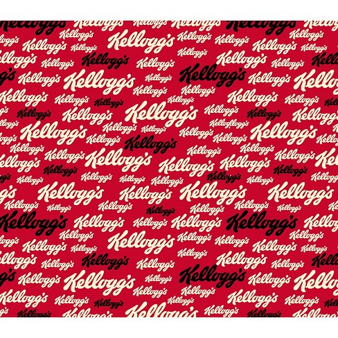 "Kellogg's Logo, Red, 100% Cotton, 43/44"" Width, Fabric by the Yard - image 1 of 1"