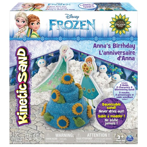 Kinetic Sand Disney's Frozen Anna's Birthday - image 1 of 8
