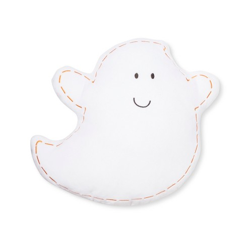 Ghost Throw Pillow White - image 1 of 1