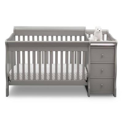 Delta Children Princeton Junction Convertible Baby Crib and Changer