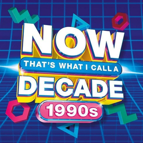 Various Artists - NOW Decade 1990s (CD) - image 1 of 1