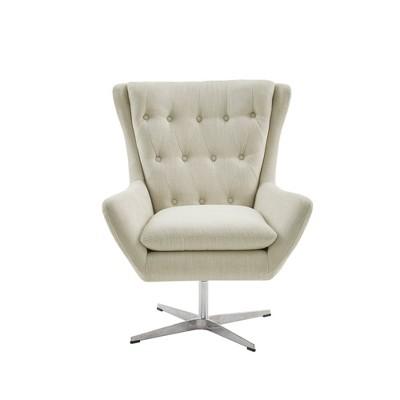 Shawna Swivel Chair Cream