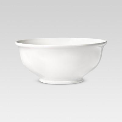 Round Serving Bowl 88oz Porcelain White - Threshold™