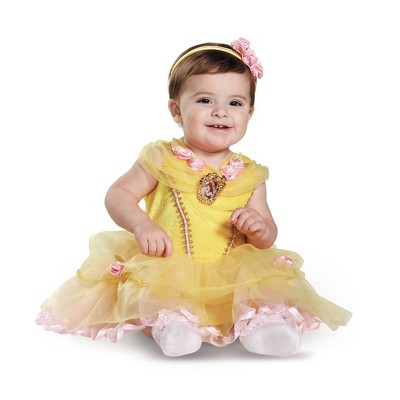 Baby Beauty and the Beast Belle Halloween Costume