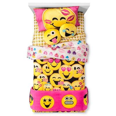Emojination Hy Emoji Yellow Kids Bedding Collection