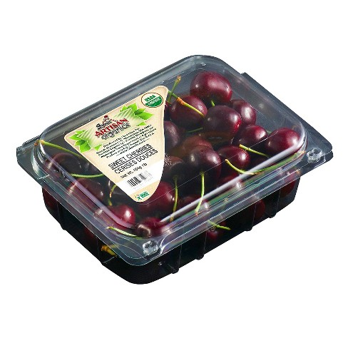 Organic Cherry Clamshell - 1lb - image 1 of 1