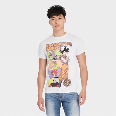 Men's Dragon Ball Z Goku Short Sleeve Graphic T-Shirt - White