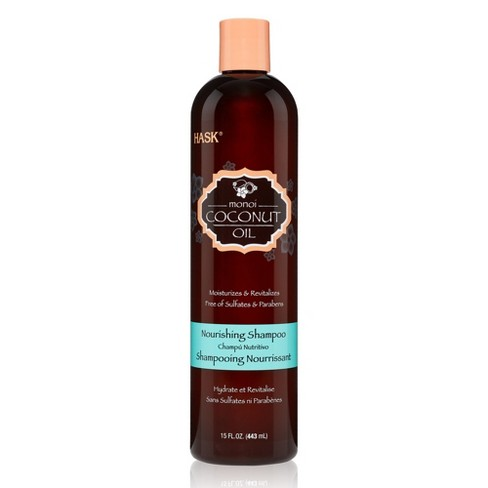 HASK Monoi Coconut Oil Nourishing Shampoo - 15 fl oz - image 1 of 3