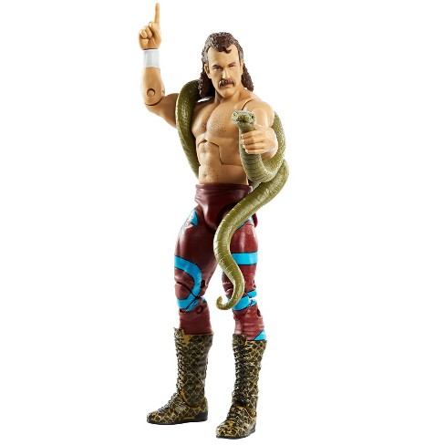 """WWE Legends Elite Collection Jake """"The Snake"""" Roberts Action Figure - image 1 of 4"""