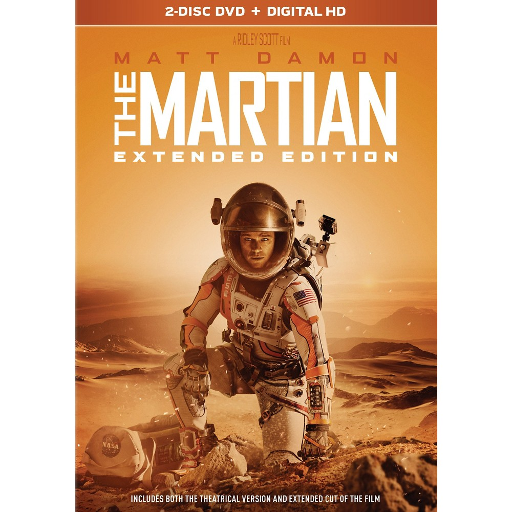 The Martian Extended Edition (Dvd)