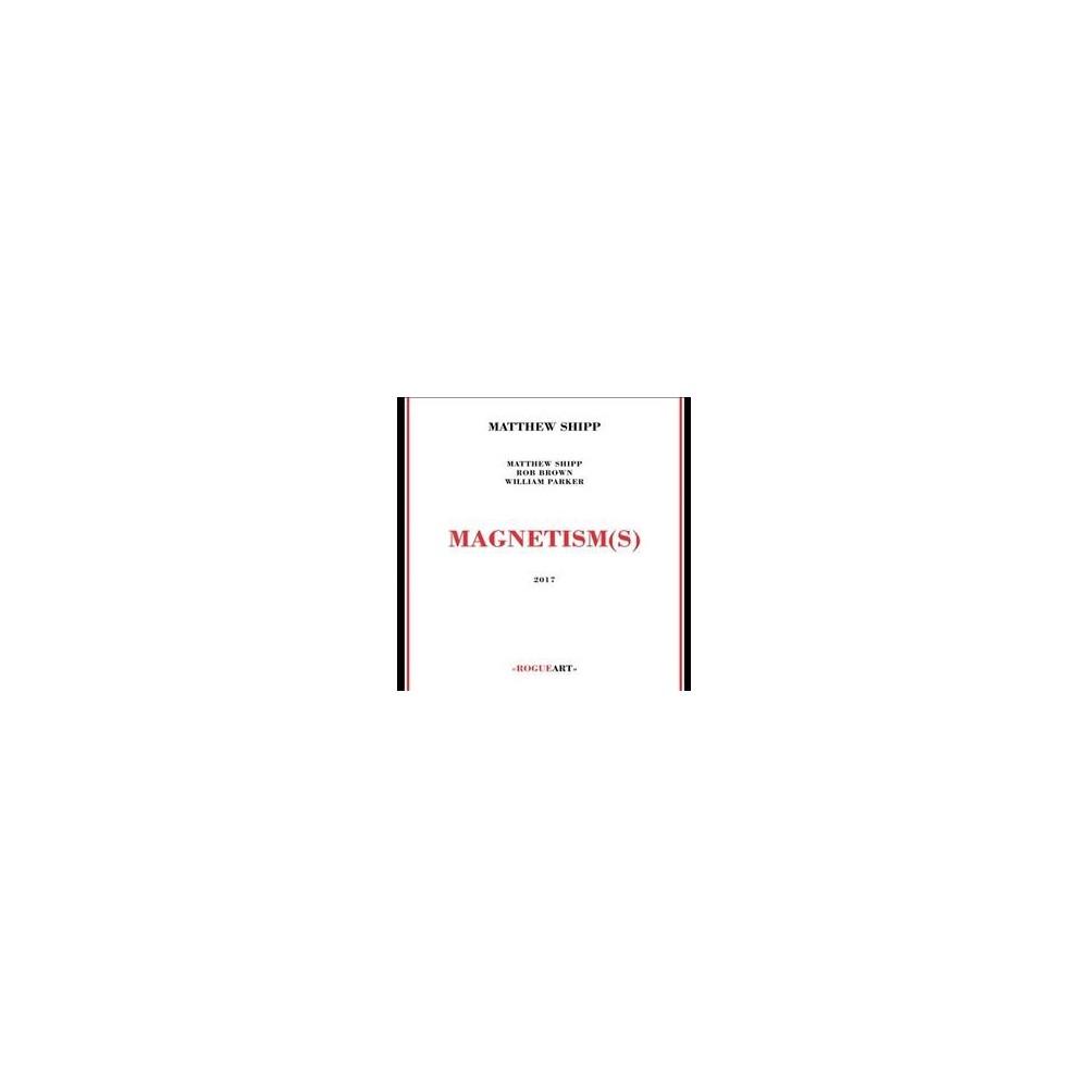 Image of Matthew Shipp - Magnetism(S) (CD)