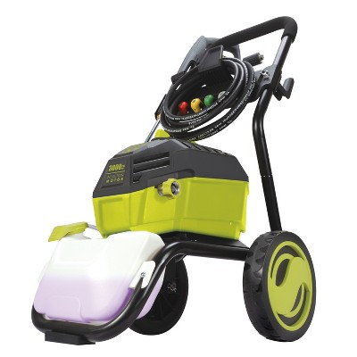 Sun Joe SPX4600 High Performance Brushless Induction Motor Electric Pressure Washer | 3000 PSI Max* | 1.3 GPM* | Roll Cage