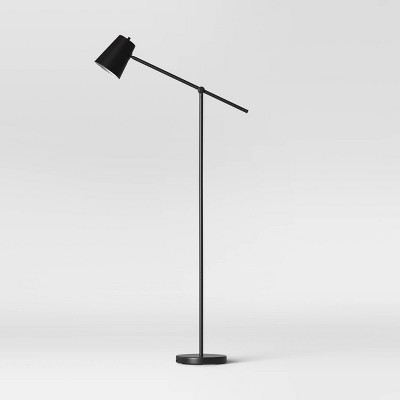 Cantilever Floor Lamp Black (Includes LED Light Bulb)- Project 62™