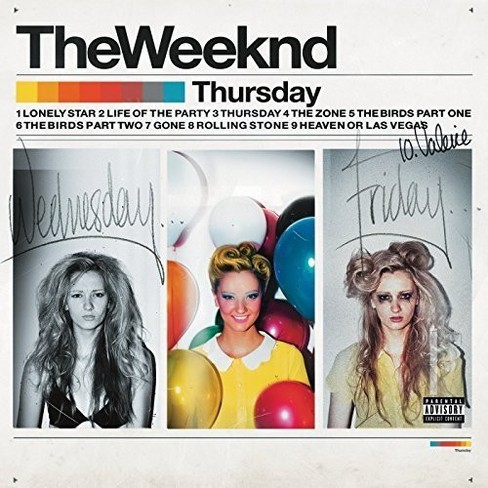 Weeknd - Thursday (CD) - image 1 of 1